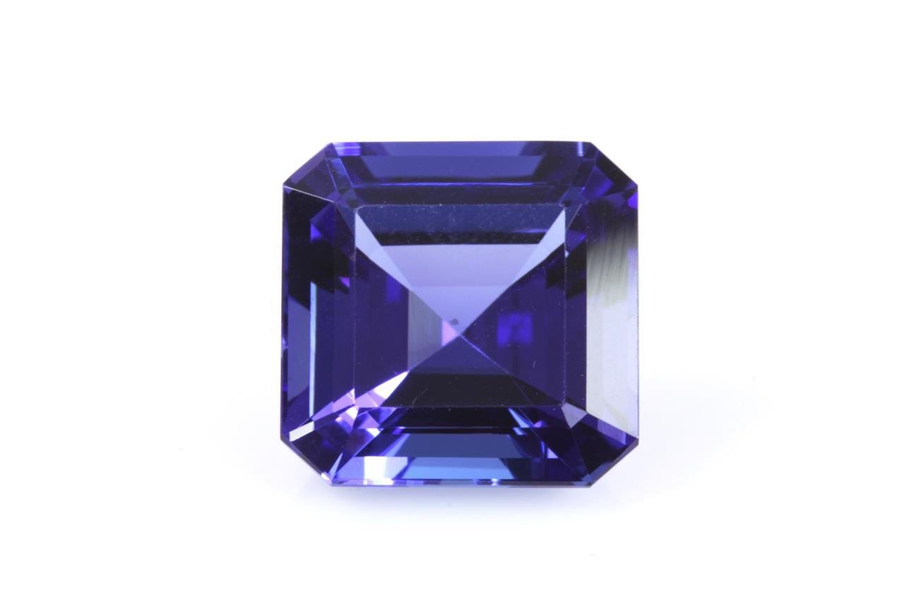ctw tanzanite gia ring gold white diamond and certified