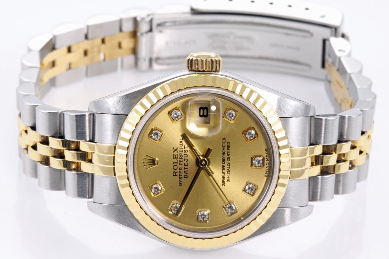 the latest dd1fa 3f024 Rolex Datejust Ladies Watch 79173G | First State Auctions